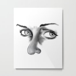 Thoughtful Metal Print