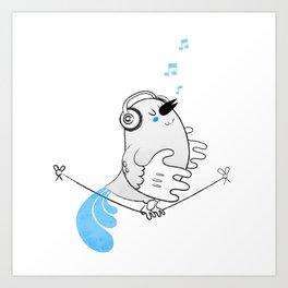 Tweettie Art Print