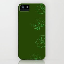 thinkin about the irreversible damage we've done to the earth iPhone Case