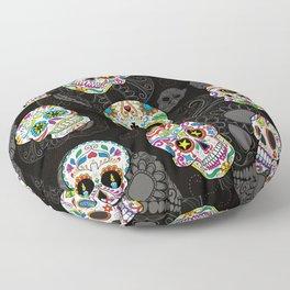 Sugar Skulls Floor Pillow