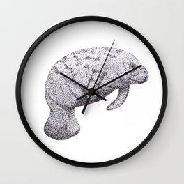 Manatee (Trichechus manatus) Wall Clock