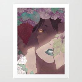 Hidden Witch Art Print