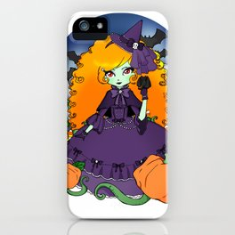 The Violet Witch iPhone Case