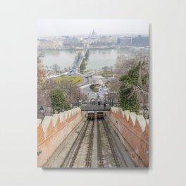 Funicular. Metal Print