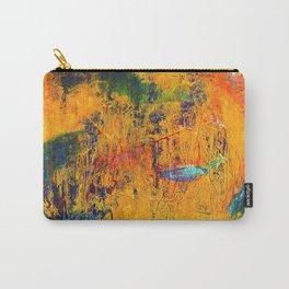 Imaginaere Landschaft II abstrakte Malerei Carry-All Pouch