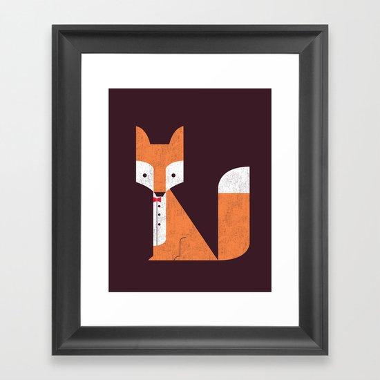 Le Sly Fox Framed Art Print
