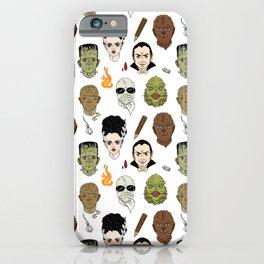 Monster Mash pattern iPhone Case