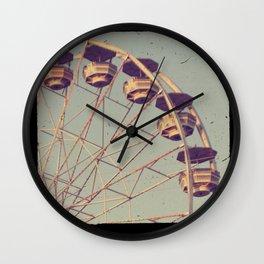 Ferris Wheel ttv photo Wall Clock