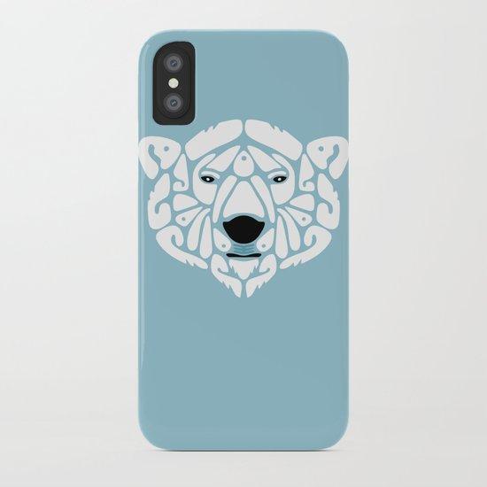 An Béar Bán (The White Bear) iPhone Case