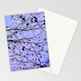 boughs ultraviolet Stationery Cards