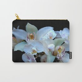 A White Orchid Wedding Carry-All Pouch