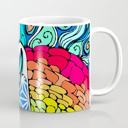 Gypsy Peacock Coffee Mug