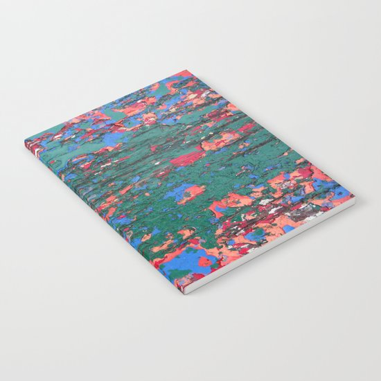 Chipping Paint Notebook