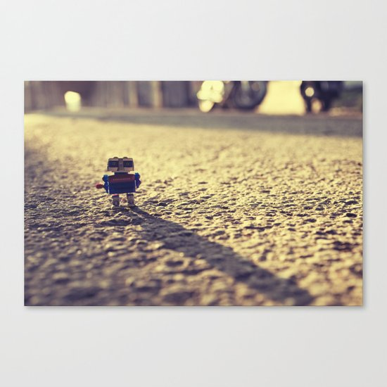 Its Time For You To GO Canvas Print