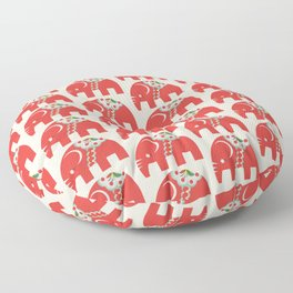 Swedish Elephant Floor Pillow