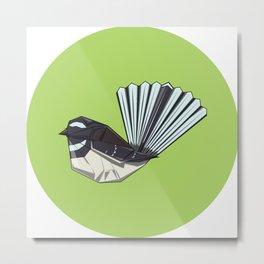 Fantail origami Metal Print