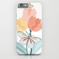 Butterflies and Tulips I Slim Case iPhone 6s