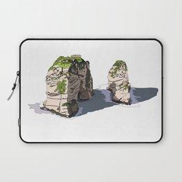 Pigeon Rocks, Lebanon Laptop Sleeve