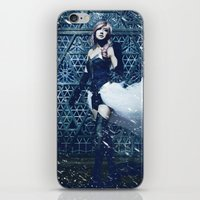lightning iPhone & iPod Skins featuring Lightning by Imustbedead
