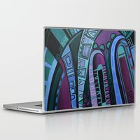 neon Laptop & iPad Skins featuring NEON by Deyana Deco