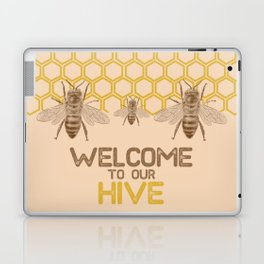 Welcome to Our Hive Laptop & iPad Skin