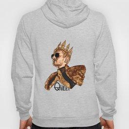 Queen Bill - Black Text Hoody