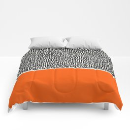 City Sunset Abstract Comforters