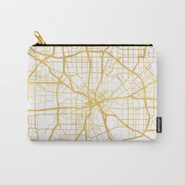 DALLAS TEXAS CITY STREET MAP ART Carry-All Pouch