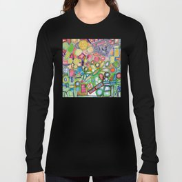 Cheerful Colorful Collection Long Sleeve T-shirt