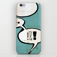 comic book iPhone & iPod Skins featuring Comic Book: !!! by Ed Pires