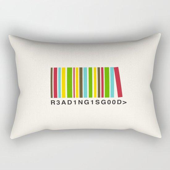 Reading is good Rectangular Pillow