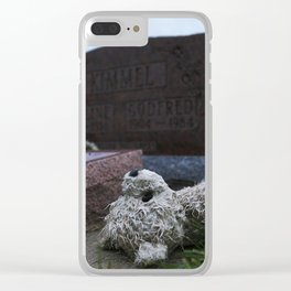 teddy grave Clear iPhone Case