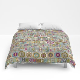 kilim pembe Comforters