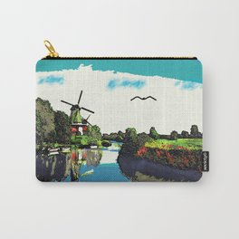 Mills at the water Carry-All Pouch