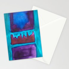 Color Abstract 1 Stationery Cards