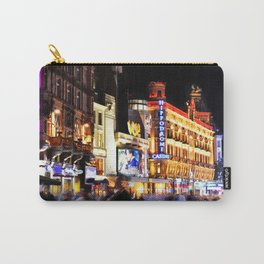Summer night in Leicester Square London Carry-All Pouch