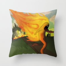 Corriendo Throw Pillow
