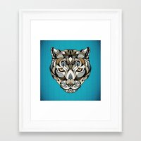 leopard Framed Art Prints featuring Leopard by Andreas Preis