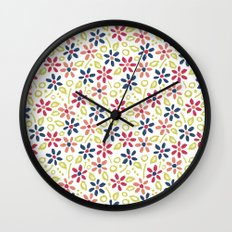 Matisse Floral Wall Clock