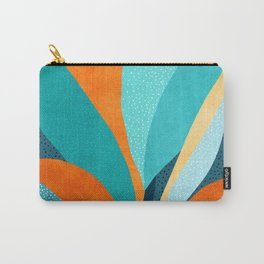 Abstract Tropical Foliage Carry-All Pouch