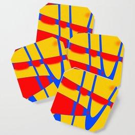 A arte das formas e cores!! Coaster