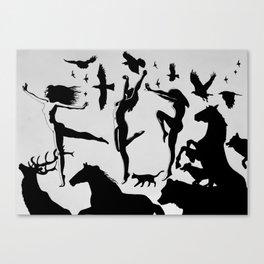 Fylgjur Canvas Print