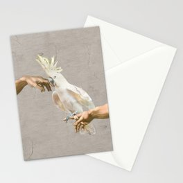 love hurts - cockatoo Stationery Cards
