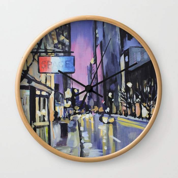 Evening Lights of the Burgh Wall Clock