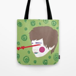 When I See You My Eyes Turn Into Little Hearts Tote Bag