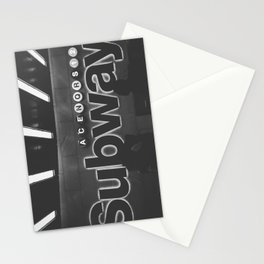 Subway Vibes Stationery Cards
