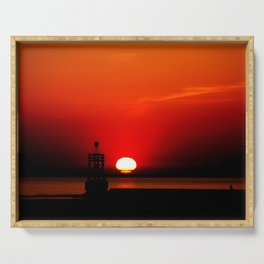 Another Sunset Serving Tray