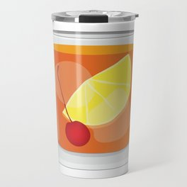 Old Fashioned Cocktail Travel Mug