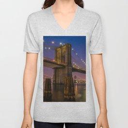 Brooklyn Nights Unisex V-Neck