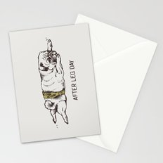 AFTER LEG DAY Stationery Cards